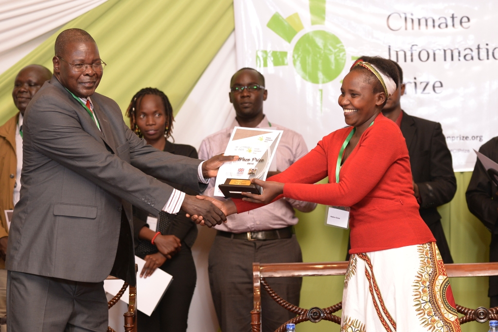 Climate Information Service Intermediary to Climate Information Prize* Winner