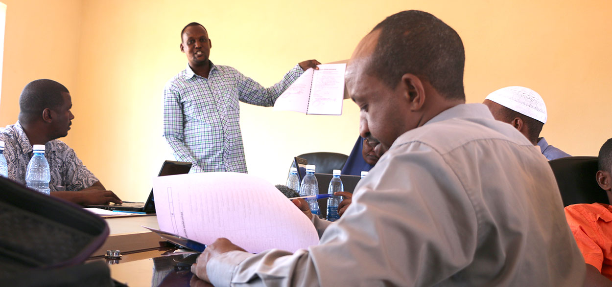 Tender evaluation bringing together WCCCPC and County Govt