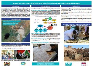 Mainstreaming Climate Change into Planning in Arid & Semi-Arid Counties of Kenya