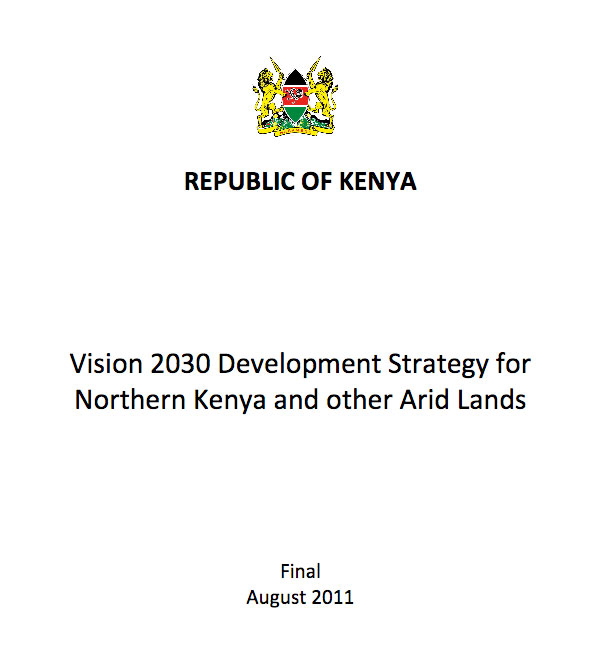 Vision 2030 Development Strategy for Northern Kenya and other Arid Lands