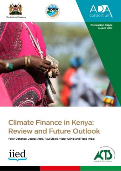 Climate Finance in Kenya: Review and Future Outlook