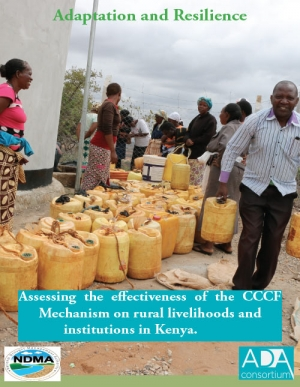 Assessing the effectiveness of the CCCF Mechanism on rural livelihoods and institutions in Kenya.