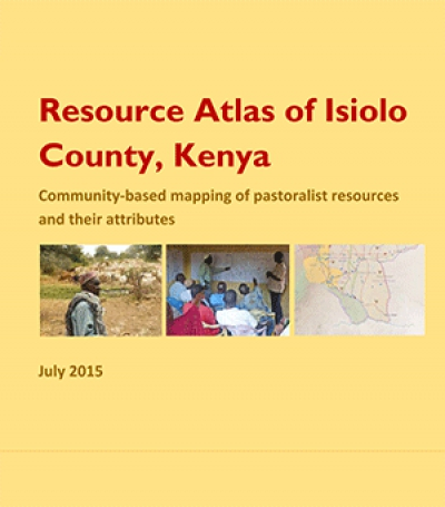 Resource Atlas of Isiolo County, Kenya