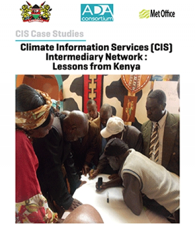 Climate  Information  Services  (CIS) Intermediary Network