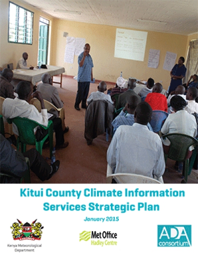 Kitui County Climate Information Services Strategic Plan
